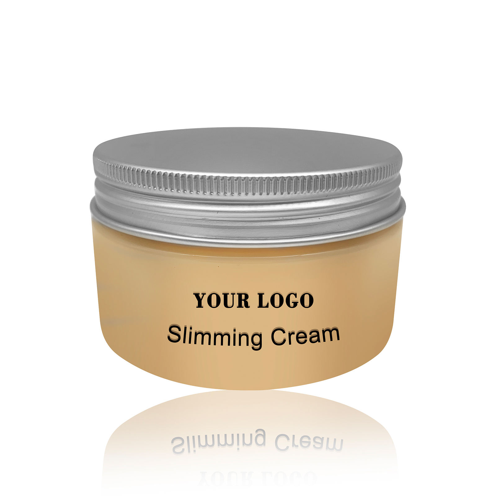 Create your own slimming cream with factory price private label Fat burning cream 100g bottle packing