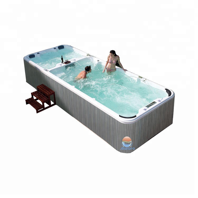 6-7 Person Deluxe Balboa System America Acrylic Hot Tub Outdoor Swim SPA with Jacuzzier/ Party massage Bathtub with TV / Hot Tub