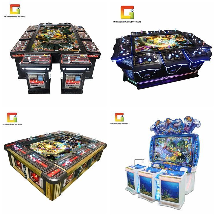 Ocean Hunter Fish Tables Home Video Game 4 Player Arcade Machine