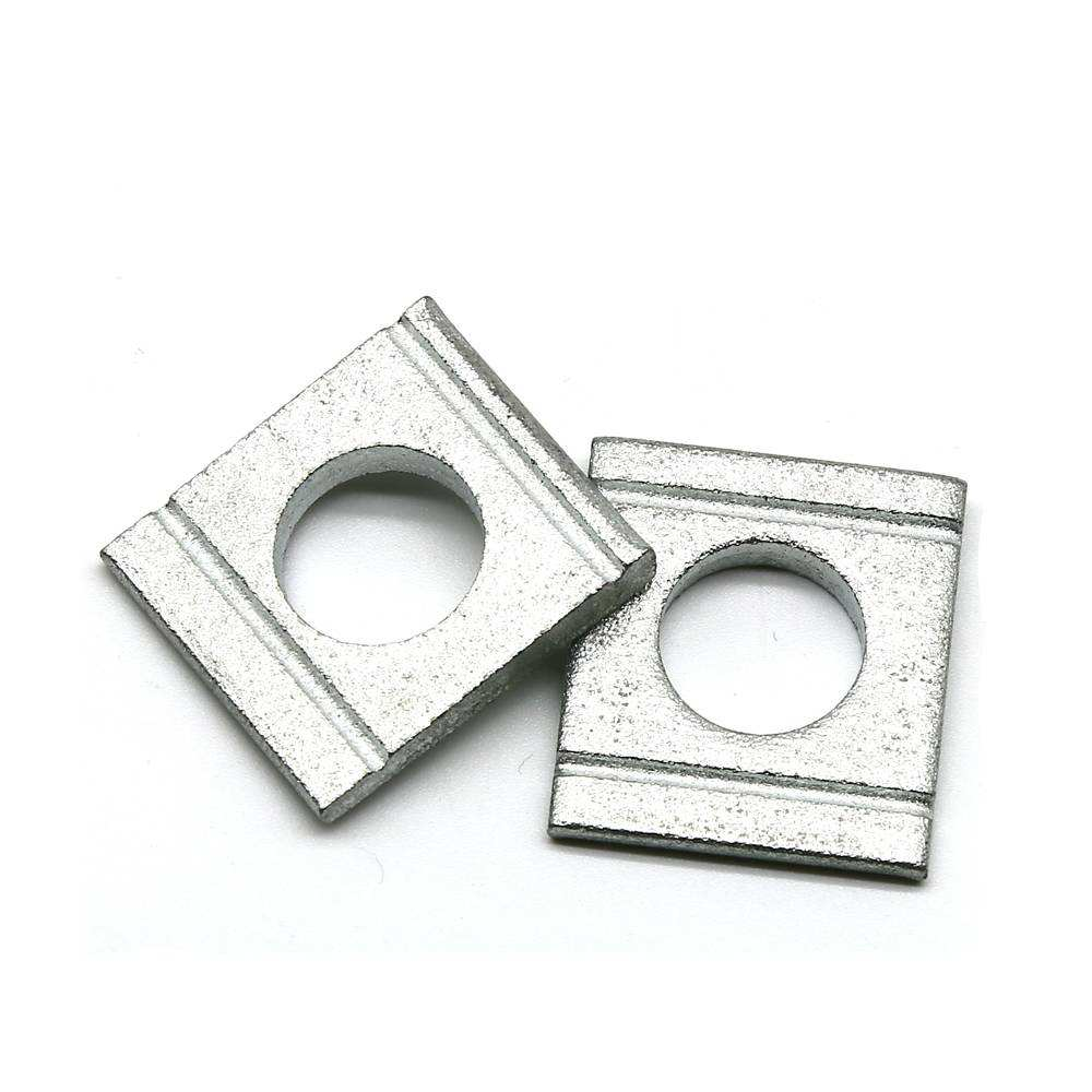 Custom Flat Stainless Steel Square Flat Washer Din125 Metal Shim Washer