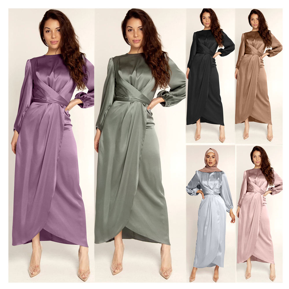 Hot selling Muslim dress fashion clothing long Muslim women party night dresses