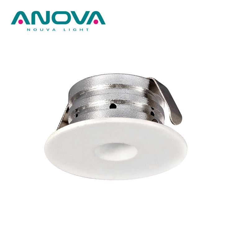 IP21 Lampu Sorot Bawah Jendela LED, 1.2W Mini Super Downlight Spot