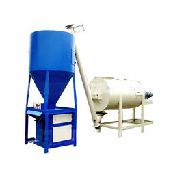 Automatic Ceramic Tile Adhesive Mortar Dry Waterproof Ready-Mixed Mortar Production Line