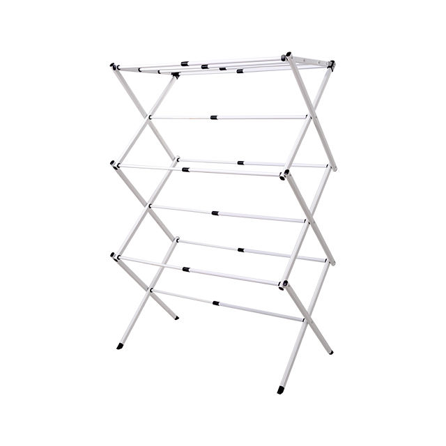 Foldable Clothes Drying Rack Rolling Collapsible Laundry Storage Hanger Stand Indoor Outdoor Cloth Dryer Stand Hanger