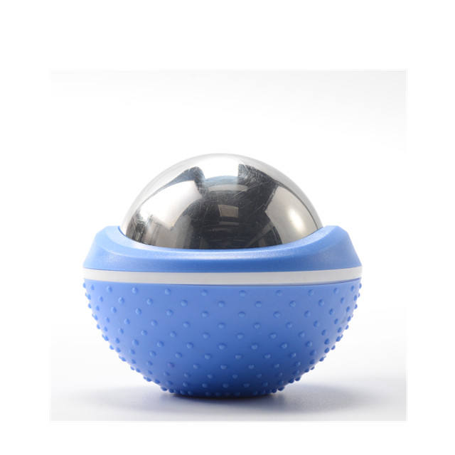60mm Handheld Revolving Facial Ice Metal Cryo Massage Roller Ball