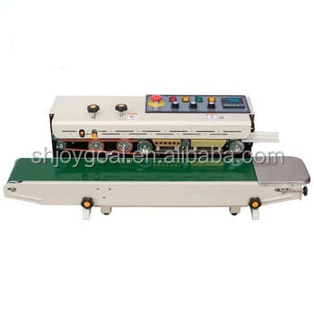 Plastic bag sealing machine Temperature regulating ink wheel sealing machine