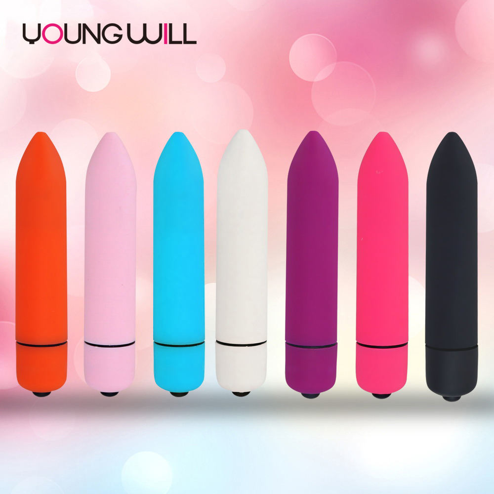 Mini bullet vibrator female sex toy 10-speed g-spot vaginal batteries vibrator clitoral stimulator female massager adult toy