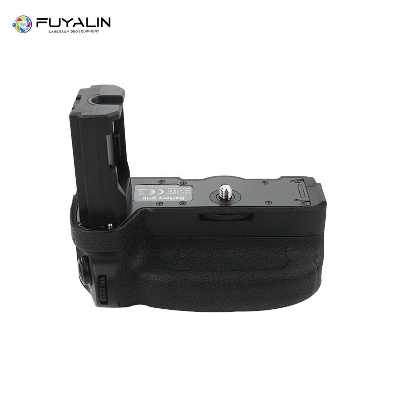FUYALIN A9RC Vertical Battery Grip with 2.4GHz Remote Controller for Sony A9 A7RIII A7III A7 III camera
