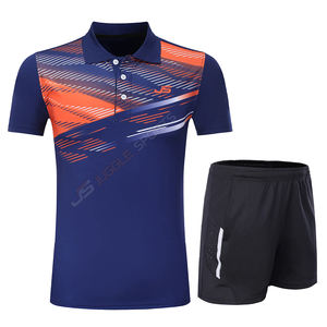 Free table tennis clothes Print Quick dry Badminton sports clothes Women Men Tennis suit badminton wear sets