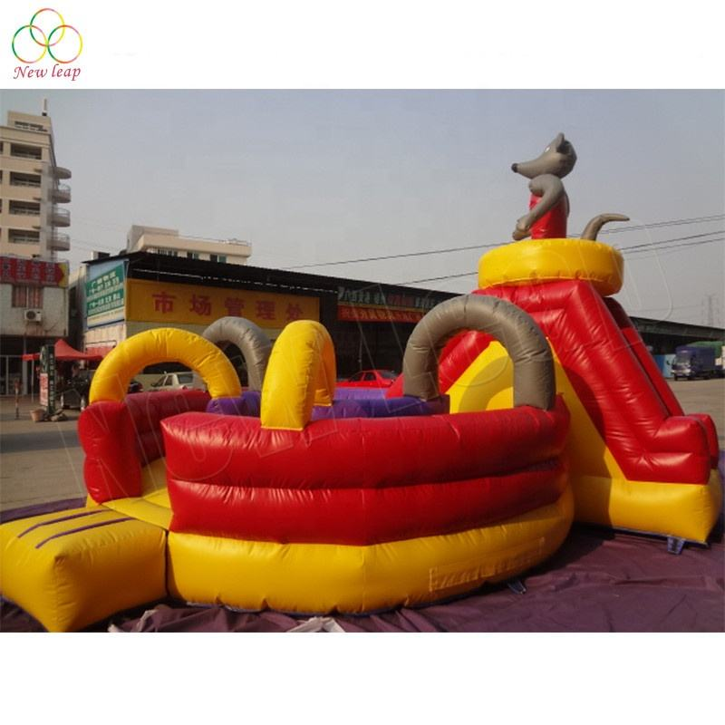 leading manufacturer of inflatables small inflatable obstacle course