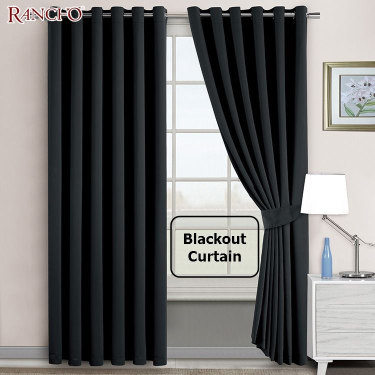 Moderate price european elegant black living room curtains luxury blackout window