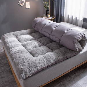 100% polyester sherpa fleece tatami sleepwell mattress for sale