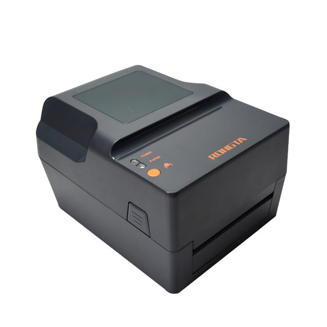4 Inch Thermische Transfer Barcode Label Printer Qr Code Naam Sticker Label Printer