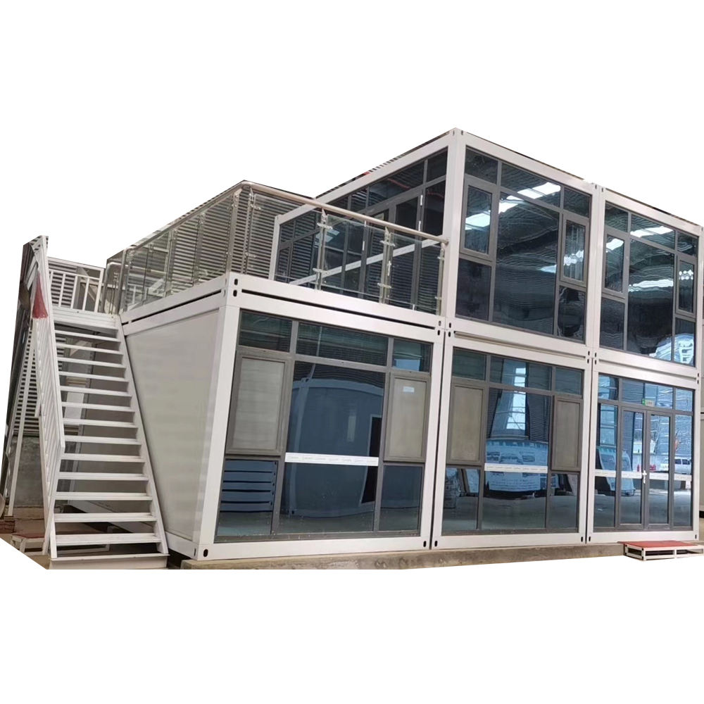 China Flat Pack Prefabricated Residential Container House Home Price