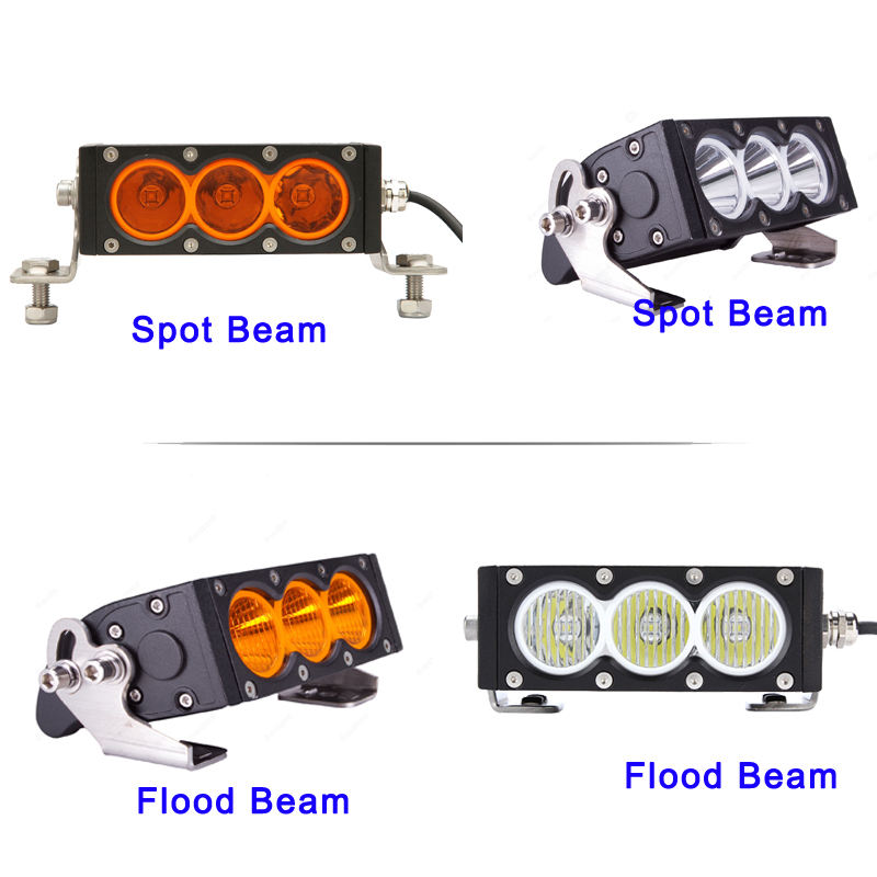 3//4//5//6//7//12 inch LED Work Light Bar Flood Spot Beam Offroad 4WD SUV Fog Light