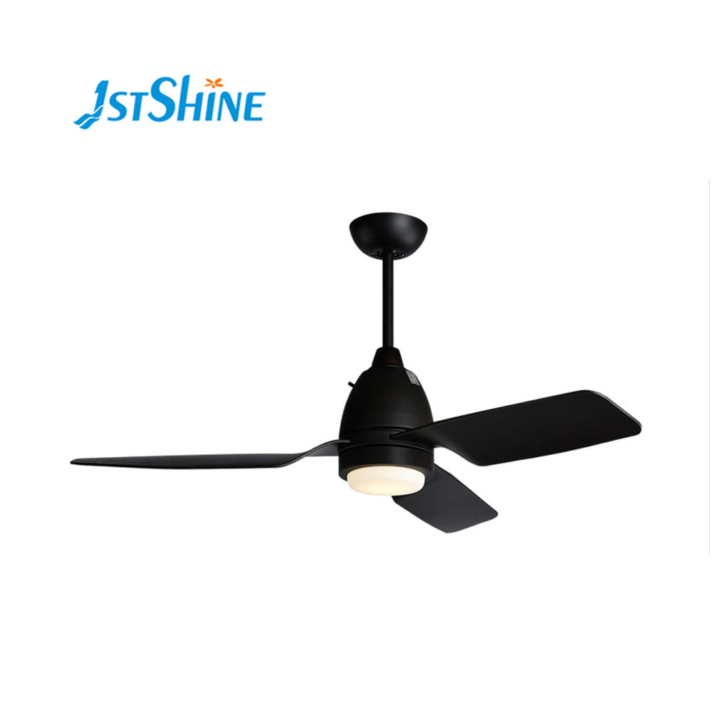 Luxury ceiling fan light european modern ABS blade ceiling fan with light remote control