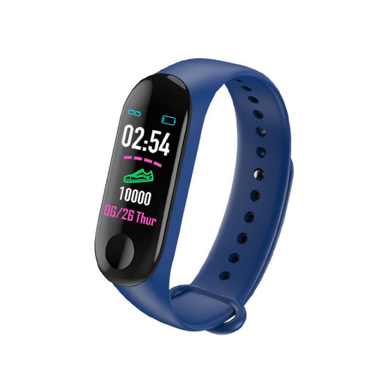 Venta caliente M3 reloj inteligente con sleep smart monitor de fitness presión android reloj inteligente