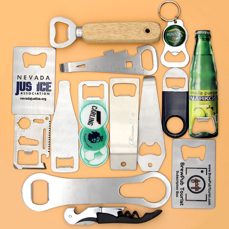 Free Sample Customized Hardware Andccessories Stainless Steel Beer Metal Blank Bottle Opener