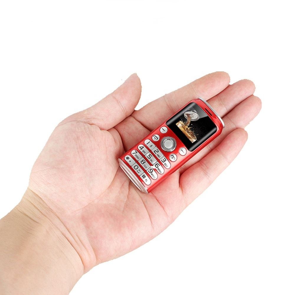SATREND K8 Fashion Mini Mobile Phone Smallest Size Cell phone Dual Sim MP3 Bluetooth Dialer Call Recording Celular