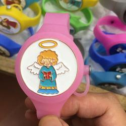 High Quality  custom logo  Wearable Hand Sanitizer Bracelet + refill bottle wristband sanitizer dispenser,hand band holder band