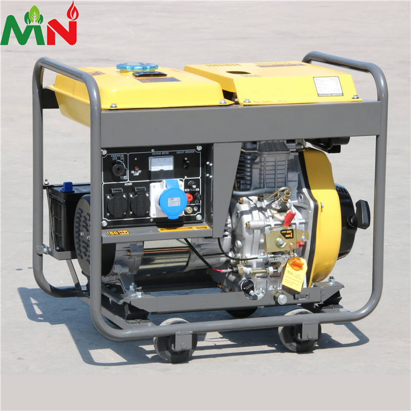 standby home generator electricity generator diesel portable generator 10kva open type