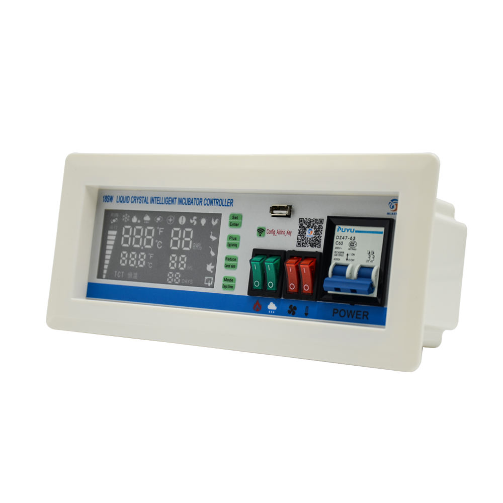 new type Mobile phone remote control incubator digital controller temperature xm-18sw