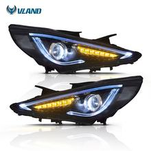 VLAND MANUFACTURE FACTORY WHOLESALE HEADLIGHT FOR HYUNDAI SONATA 2011-2014 LED HEADLAMP