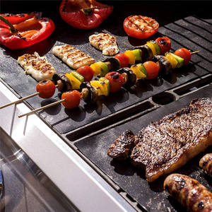 Good Quality Ecofriendly Recycle Flame Resistant Waterproof 330*400*0.2mm Recycle Bbq Grill Mat
