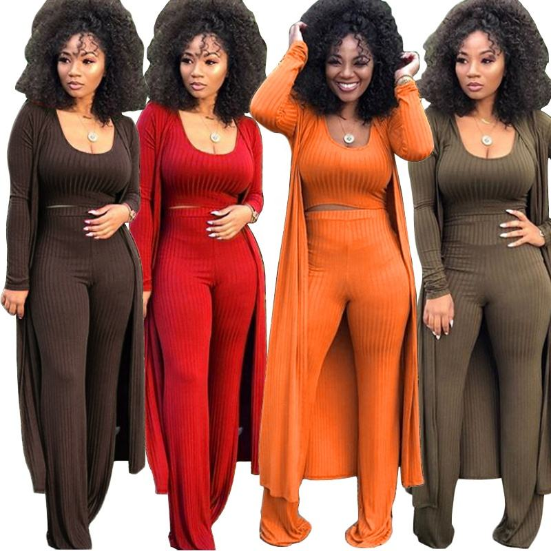 Multicolor Ladies Women Clothing Latest Design Sexy Wide Leg Pants Sets Casual 2 Piece Set Women with Cover