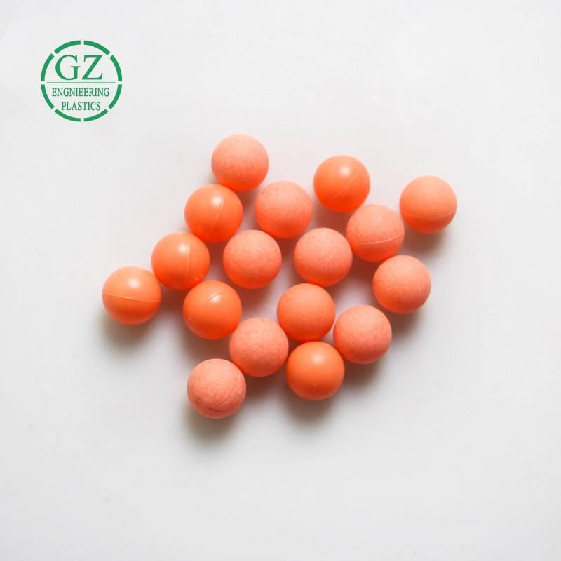industrial nylon beads customized size high quality plastic Hard solid nylon ball manufacturer