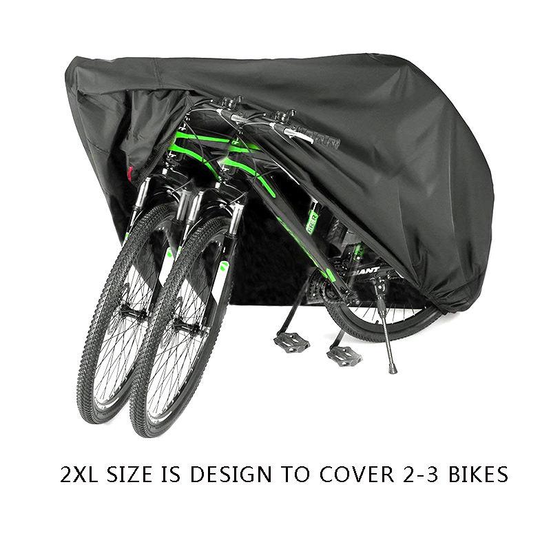 Waterproof Nylon Bicycle Cycle Bike Cover Outdoor indoor Rain UV dust Protector