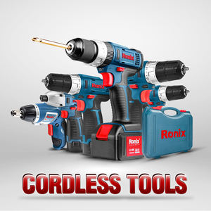Ronix cordless drill battery 18V power craft cordless driver drill