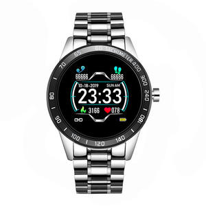 Baru Smart Watch Pria LED Layar Sensor Detak Jantung Tekanan Darah Kebugaran Tracker Sport Watch Tahan Air Smart Band