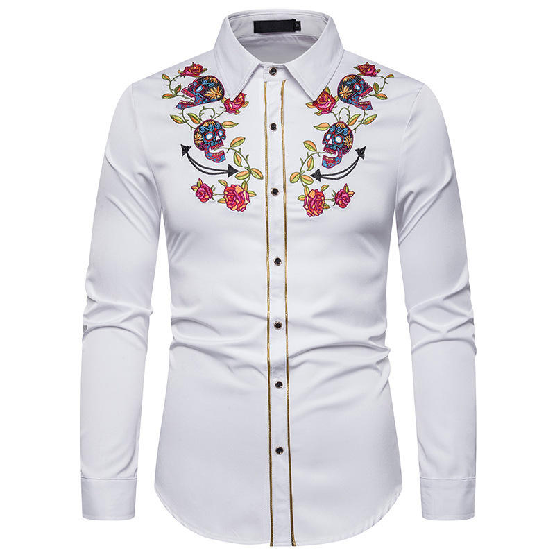 Wholesale Custom Formal Casual Long Sleeve Latest Shirts Design For Men