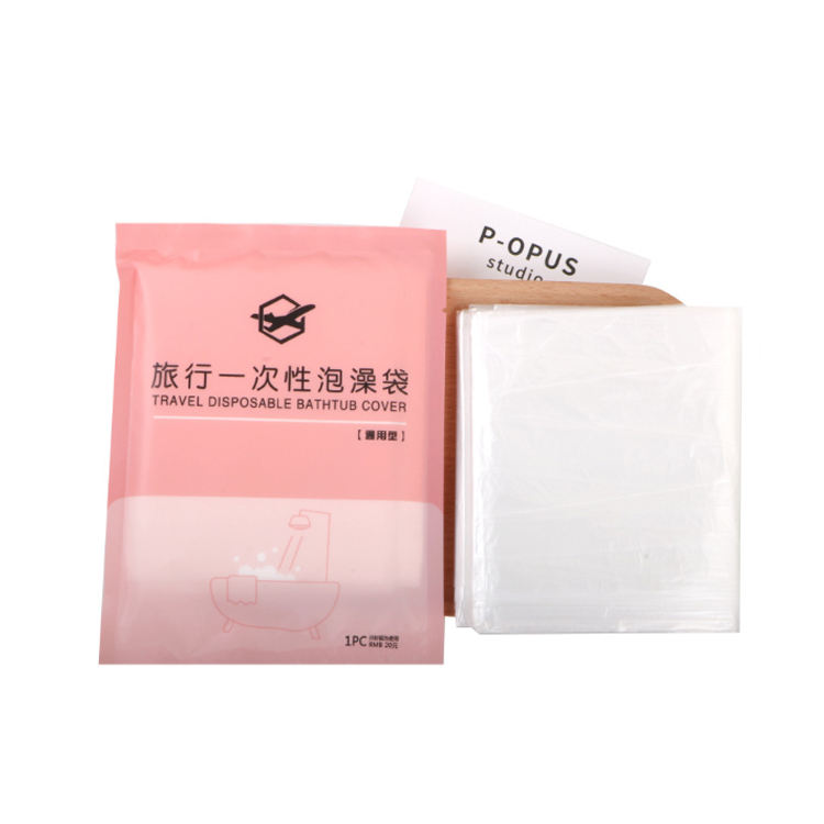 Thickened Disposable Bathtub Cover Bag Family Hotel Household bath Bag