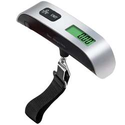 50kg/10g Digital Luggage Scale Electronic Handled Travel Bag Weighting Portable Hanging Scale Suitcase Scale