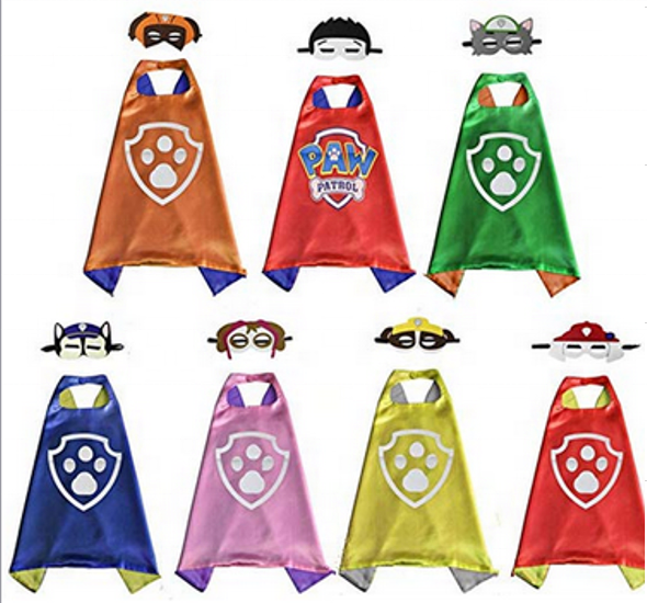 Cool Halloween Costume Cosplay Festival Party Supplies Dress Up Cloth Superhero Capes for Children