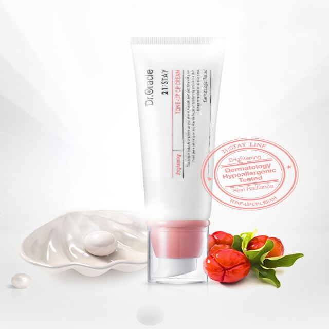 Tone-Up CP Cream 50ml, Brightening cream, Moisturizing and relaxing sensitive skin, Whitening, Dermatologist Tested