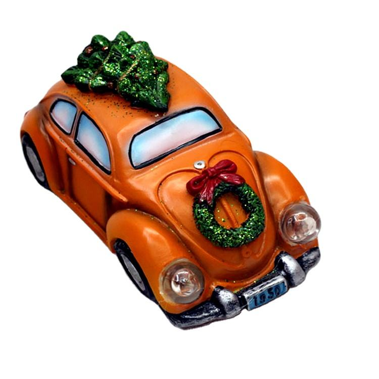 Classic Custom Light Christmas Decoration Set Ornament Xmas Christmas Car, Christmas Tree On Car