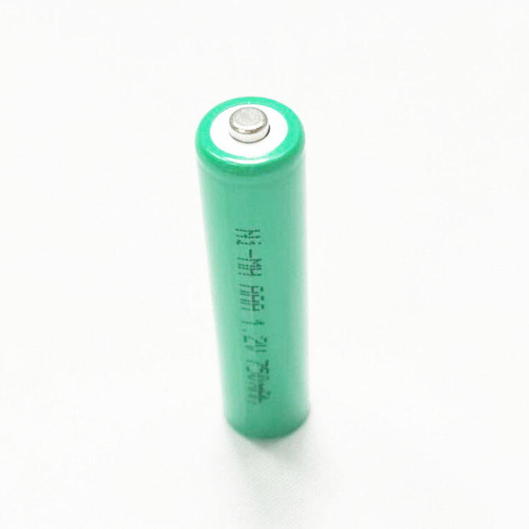 Best quality Ni-MH AAA 750mAh nimh rechargeable battery 3.6v for safety headlights