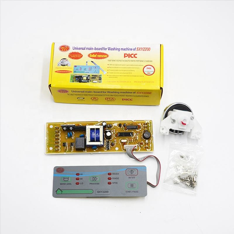 SXY2200 washing machine pcb board universal washing machine control board for LG washing machine parts
