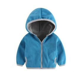 Ready To Ship Fast Wholesale Baby Spring Autumn Fleece Hoode