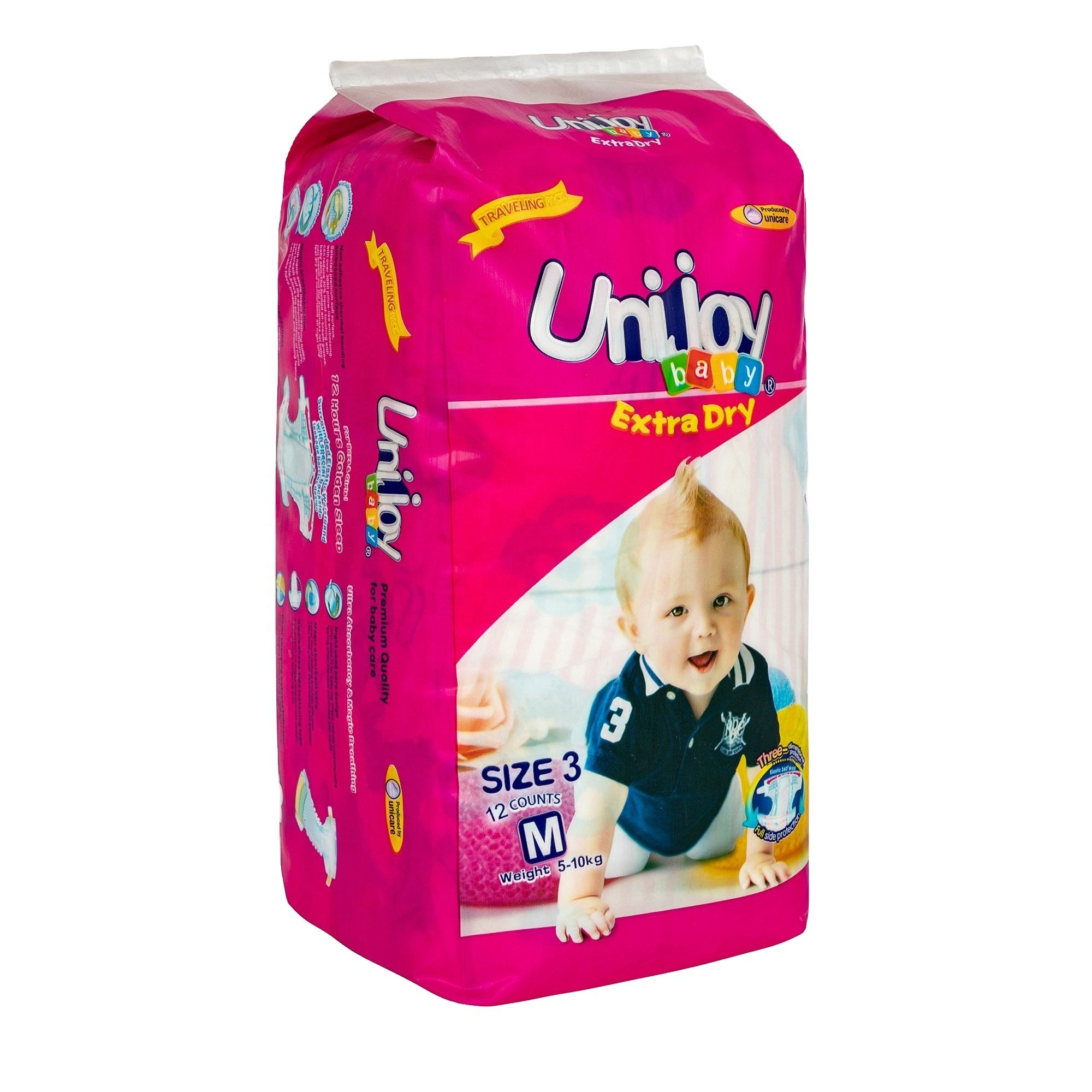 Unijoy Disposable thick baby diapers with competitive price