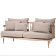Home Nordic Custom Project Scandinavian Furniture Wood Sofa Modern