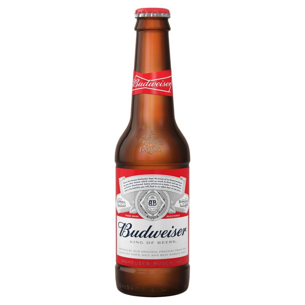 Budweiser Beer Lager Beer Steam Beer with 5% Alcohol Content