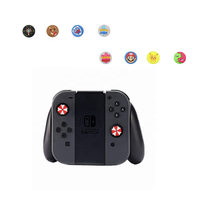 Thumb Grips Cover Joystick Rocker Caps Extended Silicone Joystick Controller Thumb Grip Caps Cover for Nintendo Switch/ Lite Hot