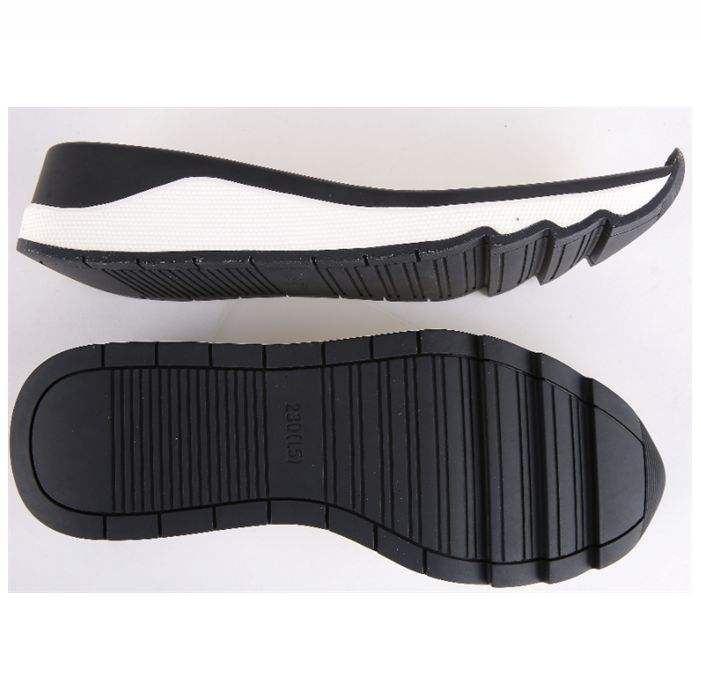Sneaker rubber shoe sole soft and comfortable anti-slip