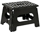 high quality 300LBS Black Plastic Folding Step Stool
