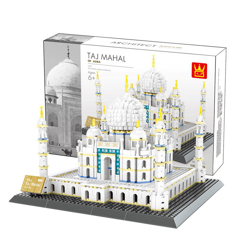 Wange 5211 Die TAJ MAHAL Modell Bausteine Bricks Classic Pädagogisches Kid <span class=keywords><strong>Spielzeug</strong></span>