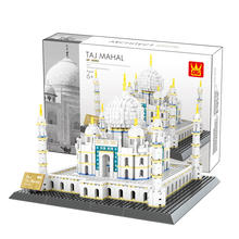 Wange 5211 The TAJ MAHAL Model Building Blocks Bricks Classic Educational Kid Toys